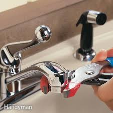 3 Way Kitchen Faucet German Faucet Aqua Faucet Cold Water How To Fix A Leaky Faucet Family Handyman