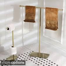 Bathroom Accessories Modern Modern Polished Brass Freestanding Bathroom Accessories Free