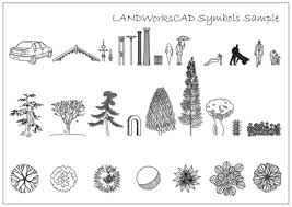landscape architecture drawing symbols design home design ideas