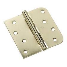 Decorative Hinges Home Depot Everbilt Bright Brass Decorative Hinges And Hasp Kit 19824 The