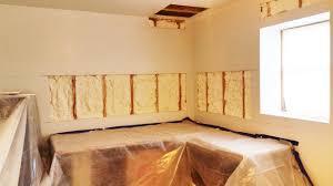 Spray Foam Insulation For Basement Walls by Retrofit Basement Exterior Walls Spray Foam Insulation Staten