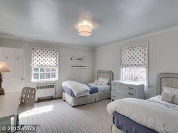 traditional kids bedroom with flush light u0026 hardwood floors in