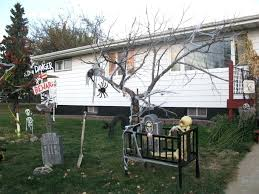 outside decorations outside decoration ideas scary outdoor decorations ideas