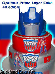 optimus prime cakes optimus prime birthday cake optimus prime transformer laye flickr