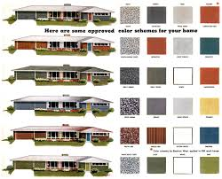 house exterior paint color schemes with colors for ranch homes