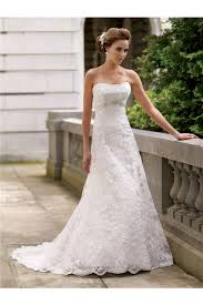 fitted wedding dresses a line strapless lace beaded wedding dress