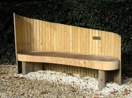 memorial benches bespoke memorial benches carved benches