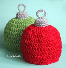 crochet ornament hat pattern repeat crafter me