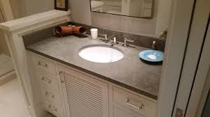 Cement Bathroom Vanity Top Charlotte Concrete Sinks Concrete Vanity Tops In Charlotte Nc