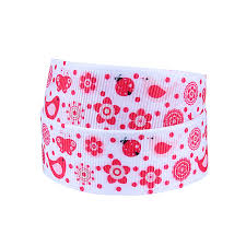 ladybug ribbon 50yards lot flora ribbons wholesale ladybug ribbon in ribbons from