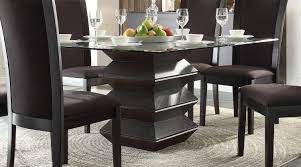 homelegance havre dining table rich dark espresso 5021 54