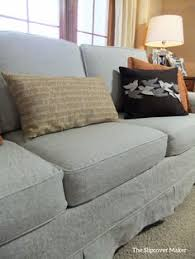 Slipcovers For Sectional Sofas by I Used Rustic A Linen And Cotton Blend In Undyed Color Oatmeal To