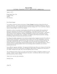 what to write in a cover letter for retail 13447