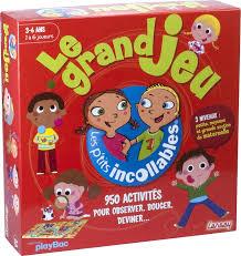 jeux de la jungle cuisine lansay 74939 jeu de société les petits incollables le grand