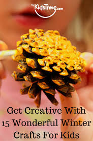 creative with 15 wonderful winter crafts for kids