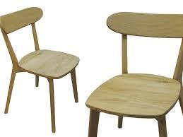 sedie rovere in legno massello di rovere