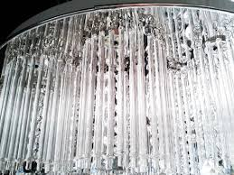 Diy Chandelier Lamp 10pcs Lot 5 250mm Round Crystal Glass Rod Prism Diy Chandelier