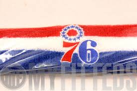 white and blue headband philadelphia 76ers scarlet white royal blue nba headband on