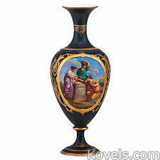 Classical Vases Antique Paris Pottery U0026 Porcelain Price Guide Antiques
