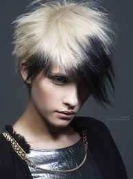 hairstyles short with blonde and black black and blonde hairstyles