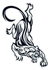 panther tattoos page 17 leg tattoos of panthers pinterest