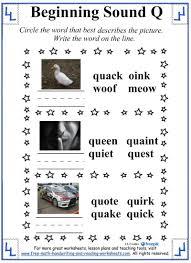 free thanksgiving reading worksheets letter q worksheets