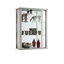 Wall Mounted Glass Display Cabinet Singapore Double Glass Display Cabinet Ebay