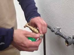 replacing an outdoor tap youtube