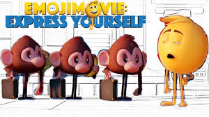 coloring monkeys and gene the emoji movie coloring pages for
