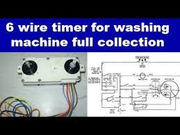 washing machine motor common wire repairing hindi