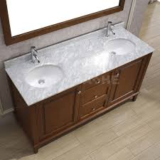 art bathe lily 63 double bathroom vanity solid hardwood vanity