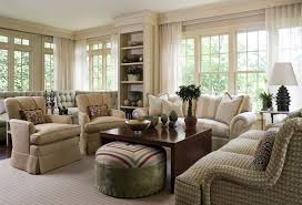 New York Family Room Window Living Traditional With Sheers Display - Family room window treatments