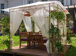 contemporary outdoor gazebo drapes outdoor gazebo drapes ideas
