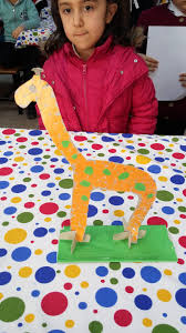 giraffe craft ideas for kid preschool crafts