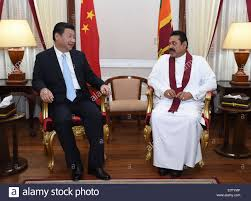 sri lankan l colombo sri lanka 16th sep 2014 president xi jinping