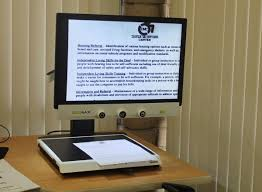 lexus hoverboard bloomberg assistive technology picture of cc tv used to magnify documents
