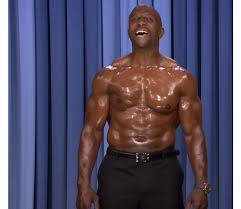 dancing woman gives terry crews a run for his money men u0027s