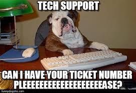 Tech Support Memes - tech support dog boss meme on memegen