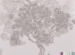 manchurian metallic tree wallpaper rop 73700 designer