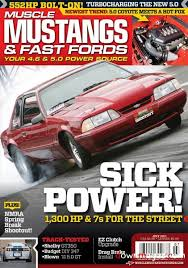5 0 mustang and fast fords mustangs fast fords july 2011 pdf magazines