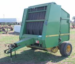 john deere 530 round baler item h5880 sold april 29 ag