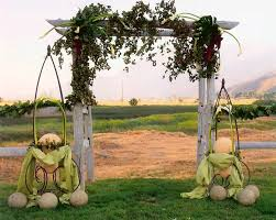 rustic wedding trellis u2013 outdoor decorations