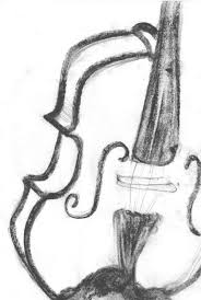 dudlow drawing board the fiddly process of drawing a violin