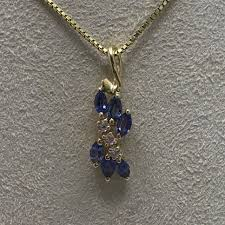 sapphire necklace yellow gold images Montana yogo sapphire missoula mt rogers co jewelry jpg