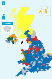 Mail Map The Uk Political Map Now Looks A Lot Like Maggie Simpson