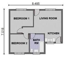simple two bedroom house plans two bedroom cottage plans 100 images 2 bedroom house plans
