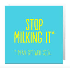 get well soon cards stop it get well soon card 2 60 creased cards