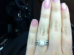 1 carat halo engagement ring anyone with a 1ct or 1 5 ct halo e ring post pics