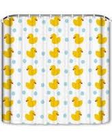 Duck Bathroom Decor Deal Alert 74 Off Popeven Cute Samll Animals Pattern Shower