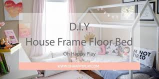 What Is A Montessori Bedroom Diy House Frame Floor Bed Plan Oh Happy Play